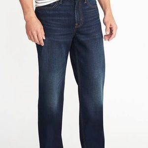 Old Navy Loose men's jeans 100% cotton 44 x 30 NWT